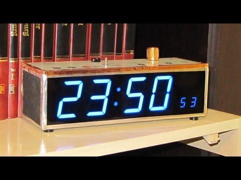 ALARM CLOCK e MP3 / CHRONO / ALARM / BLUETOOTH (Homemade)