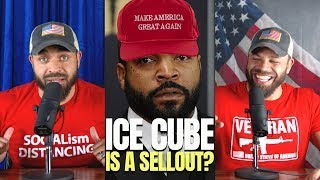 Ice Cube Takes Heat For Working With Trump