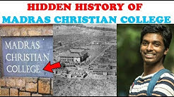 The History Of MCC College That Will Flabbergast You | Hidden History Of madras christian college