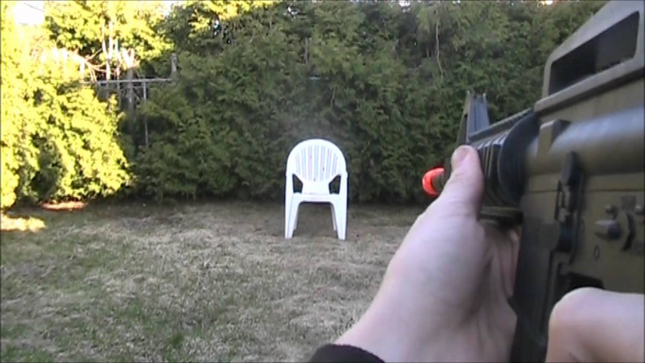 m 16 spring airsoft bb gun review youtube