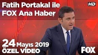 Erdoğan: Hırsızlara Bu Işi Bırakmayacağız! 24 Mayıs 2019 Fatih Portakal Ile Fox