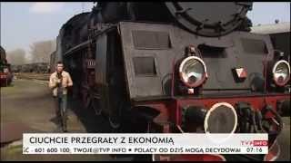 Ciuchcie przegrały z ekonomią  (TVP Info, 01.04.2014)