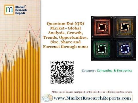 Quantum Dot (QD) Market - Global Analysis, Share and Forecast through 2020