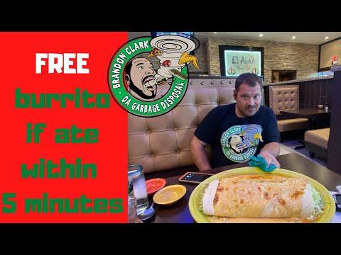 El Agave 5LB Monster Burrito Challenge Southaven Mississippi