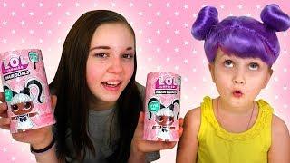 ЧТО С ВОЛОСАМИ Новые Куклы ЛОЛ Hairgoals Makeover LOL Surprise Challenge