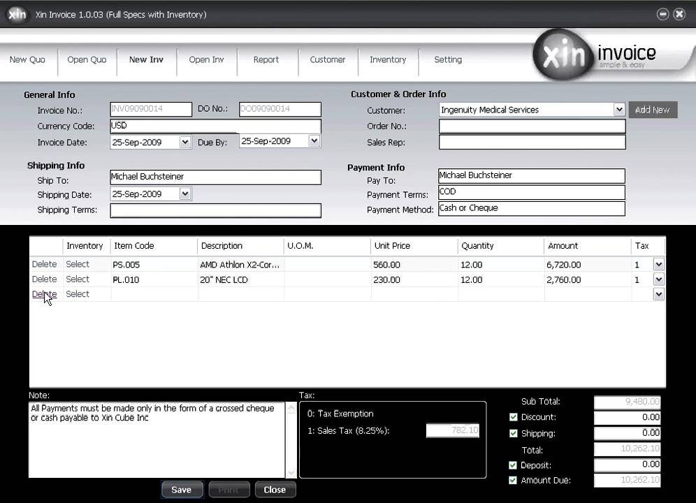 Create Invoice Free Affordable Invoicing Software YouTube - Free business invoice software