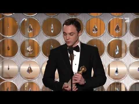 Jim Parsons   Golden Globes Awards 2011