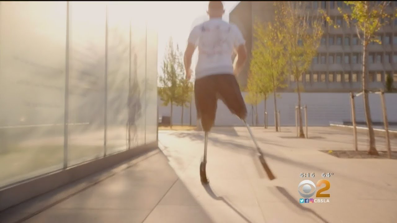 Disabled Vet Running 31 Marathons In 31 Days