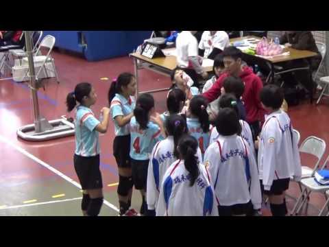 105年青年盃排球國小五女童南陽VS三峽 - YouTube