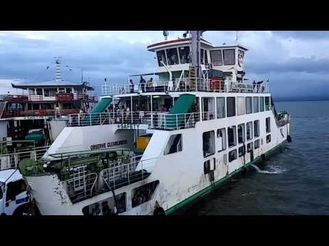 Riding the barge from mukas to ozamiz