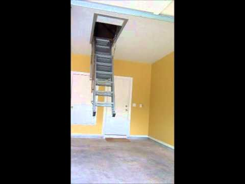 Precision Ladders Super Simplex Disappearing Attic Stairs