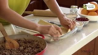 Рецепт пирога с мясом и грибами от Магии Кухни & Comode.kz