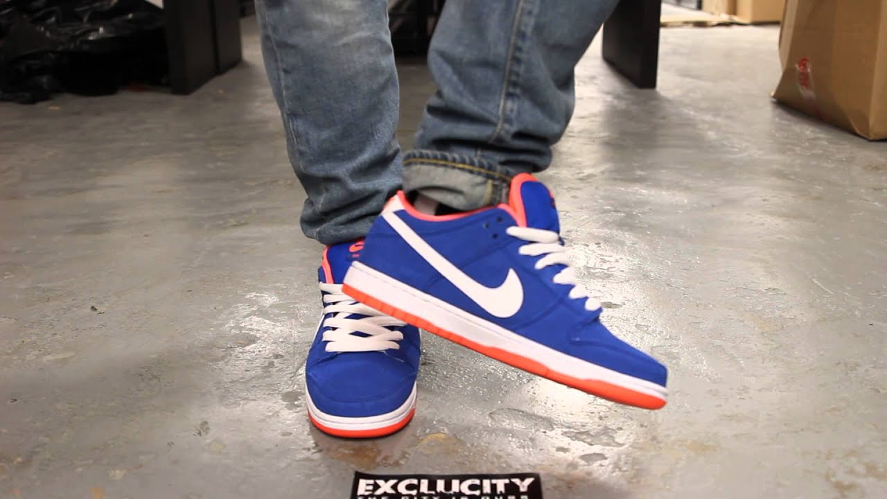 a6c4f70f2c61 ... coupon for nike dunk low pro sb game royal white bright mango on feet  video exclucity