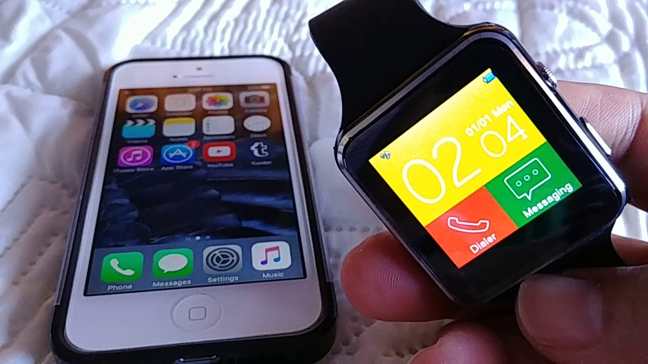 How to pair X6 Smart Watch to Iphone 5