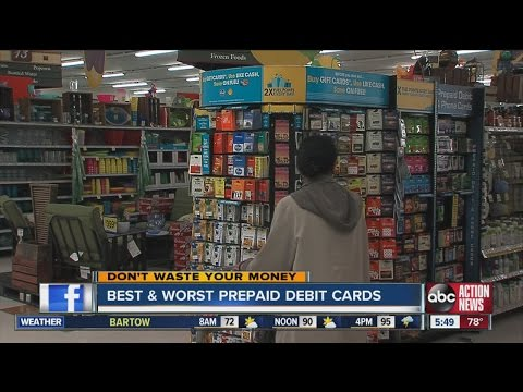 Don't Waste Your Money: Best and worst prepaid debit cards