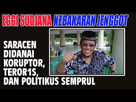Eggi Sudjana Kebakaran Jenggot, Saracen Didanai Koruptor, T3R0R1S, dan Politikus Semprul