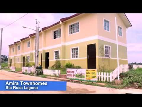 Amira Townhomes Sta Rosa Laguna Cheap House and Lot for Sale in Laguna