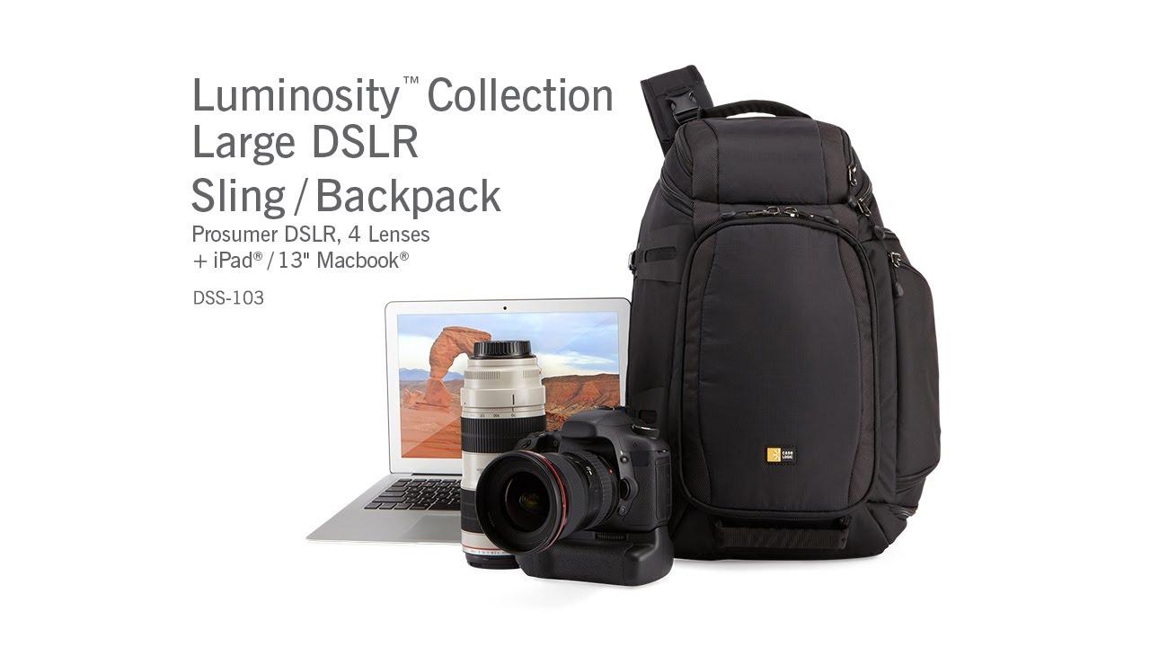 e49d86030ac4 Luminosity Large Sling Backpack (DSS-103) - YouTube