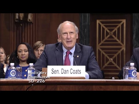 Coats Testifies in Support of U.S. District Court Nominee Winfield Ong