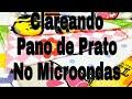 COMO LAVO MEUS PANOS DE PRATO / COMO DEIXO ELES BRANQUINHOS NO MICRO |Andressa Lima