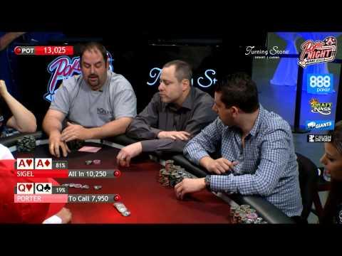 Poker Night in America | Live Stream | 8-8-15 | Turning Stone Casino - Verona, NY (2/2)