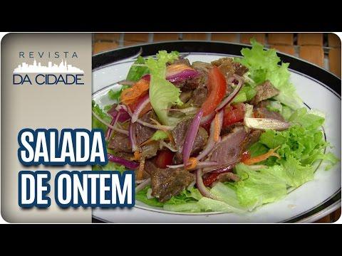 Receita de Salada com Costela - Revista da Cidade (20/03/2017)