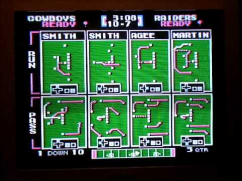Tecmo Super Bowl XIX - Dallas vs. LA Raiders