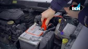 Hyytyikö auton akku pakkaseen? Katso nopea ja helppo apu auton käynnistykseen!