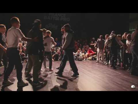 Vagabonds vs Immigrandz | 1/4 finale  France Battle Pro 2017 | Hip Hop Corner