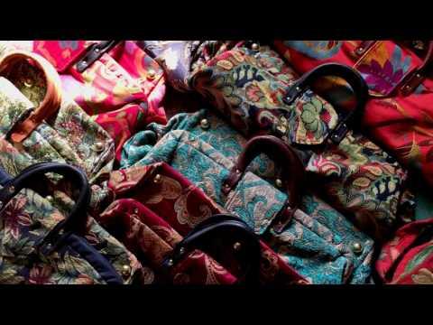 The Making of a Carpet Bag - Debra Janin