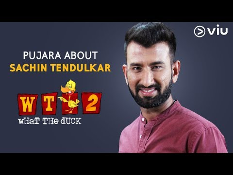 Cheteshwar Pujara About Sachin Tendulkar | What The Duck Season 2 | Vikram Sathaye | Viu India