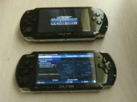 PSP 1000 vs PSP 3000 (comparativa tiempos de carga) - YouTube