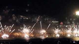 Dubai's record-breaking Palm Jumeirah fireworks