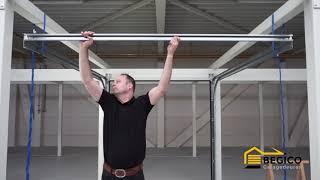 Montage instructie sectionale garagedeur G160