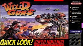 SNES: Metal Warrior and Wild Guns! Quick Look - YoVideogames