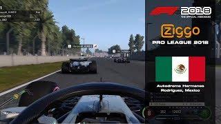 F1 2018 - Ziggo Pro League - Round 19: Mexican Grand Prix
