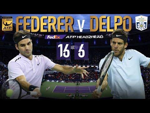 Federer-DelPo Blockbuster Leads Shanghai SF Lineup