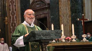 Omelia del Cardinale Cantalamessa - presa di possesso della diaconia cardinalizia
