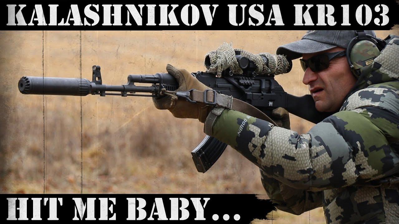 Kalashnikov USA KR103 - Hit me baby one more time!