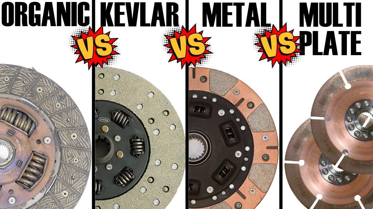 CLUTCH: Organic vs. Kevlar vs. Metal vs. Multi Plate CLUTCHES - in-depth COMPARISON