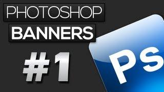 Como fazer um Banner Simples | Photoshop Banners #1