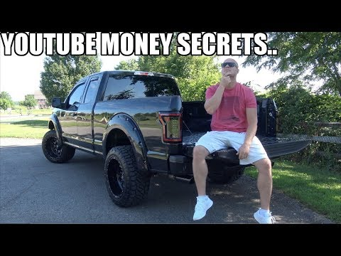 "Here's how much Youtube $$ my ""illegal"" F150 generates! (Youtubers wont show you this..)"