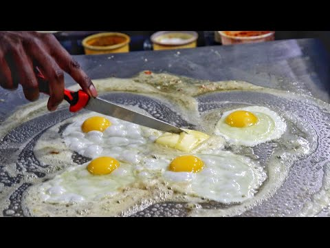 Butter Rich Delicious Egg Dishes | Best Egg Compilation 2019 | Egg Street Food | Indian Street Food