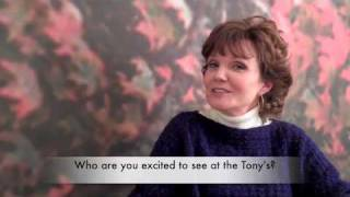 Connie Ray (Arlene) is excited about NEXT FALL at the Tony's!