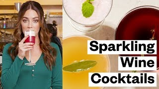 3 Sparkling WINE Cocktails (Fun + Festive Recipes) | Thrive Market