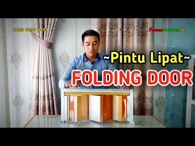 Folding Door | Pintu Lipat 082310989451 #gudanggorden