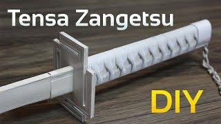 TENSA ZANGESTU - WHITE ICHIGO - BLEACH - EPEE - (Cosplay) tuto FR