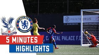 HIGHLIGHTS | Palace Ladies vs Chelsea Women (Conti Cup)