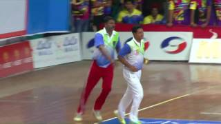INDO RIDERS VS YOUNGESTERS MATCH |KMCC 2017 | Indoor Cricket Live Kerala thumbnail