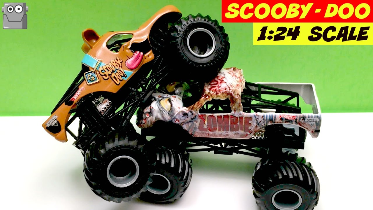 Scooby Doo 1 24 Scale Monster Jam Truck Zombie Youtube